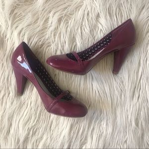 fiona Shoes - Patent Mary Janes